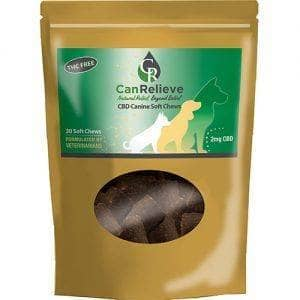 CBD Canine Soft Chews – 30 Count Bag CanRelieve