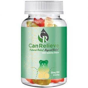 Canrelieve CBD gummy bears