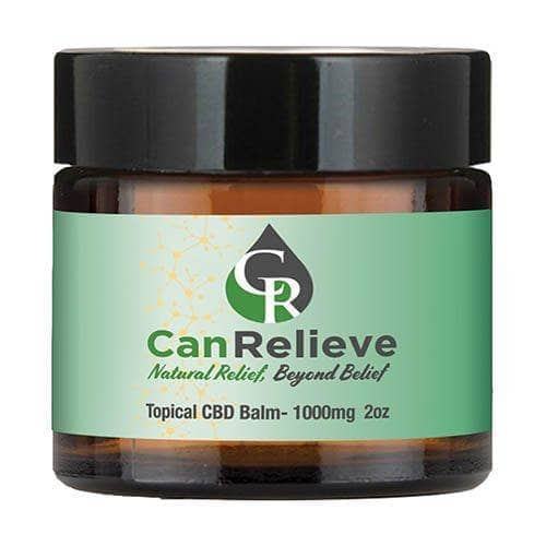 Topical CBD Balm 1000mg 2 oz CanRelieve