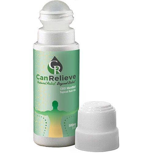 Topical CBD Menthol Roll On 500mg CanRelieve