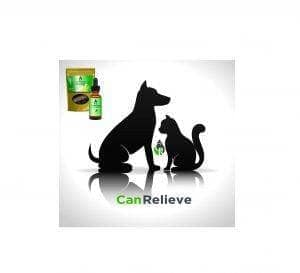 CanRelieve for Pets with Product